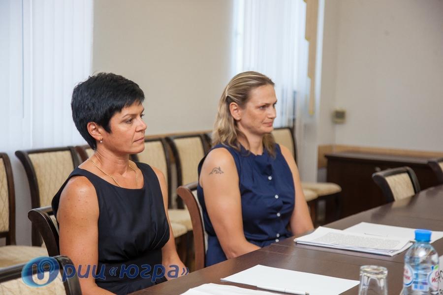 Наталья Комарова лично поздравила наставниц бронзовых призеров Олимпиады вРио